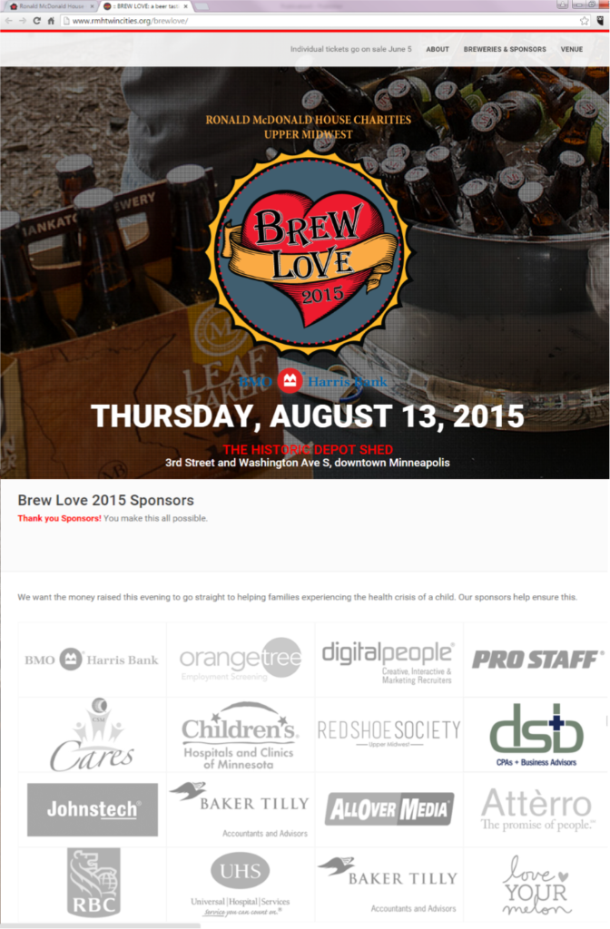Brew Love Event - Minneapolis CPA Firm