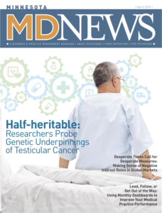 MDNews Minnesota Magazine Cover April 2016