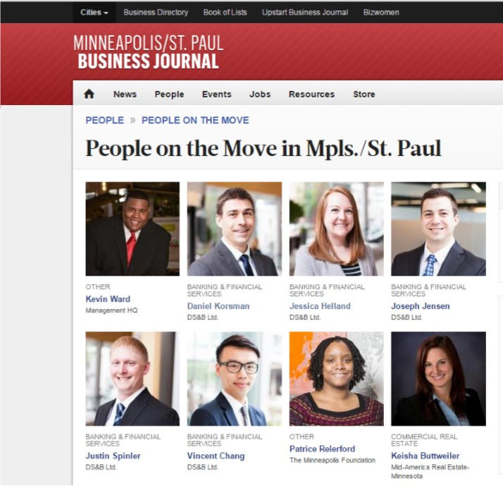 People on the Move -Minneapolis CPA Firm